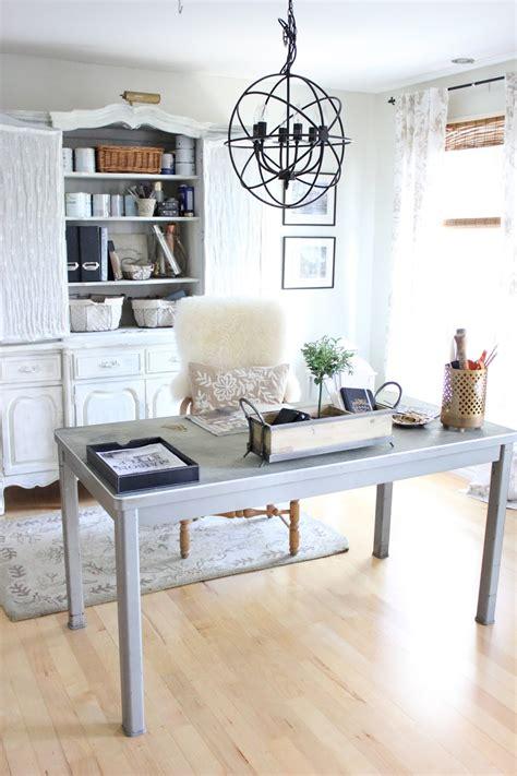 bureau rustique 12 idées pour aménager et décorer un bureau avec une