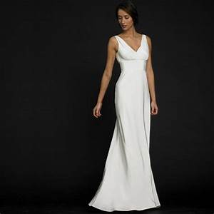 Shaping your style with simple wedding dress for Simple white wedding dress