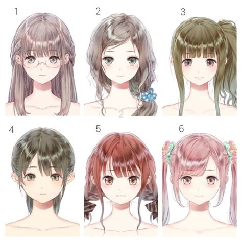 hairs anime images  pinterest anime hair