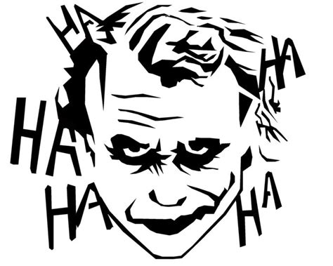 Batman Pumpkin Carving Patterns by Joker Marvel Comics Silhouettes Google Search Drawing