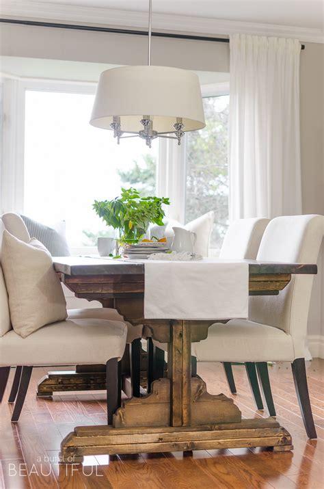simple modern farmhouse dining room updates  burst