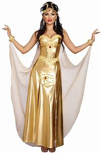 Goddess Of Egypt Adult Costume - PureCostumes.com
