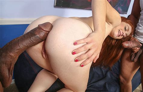 Tight Teen Pussy Creampied With Three Big Black Dicks