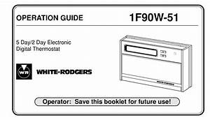 White Rodgers 1f90w