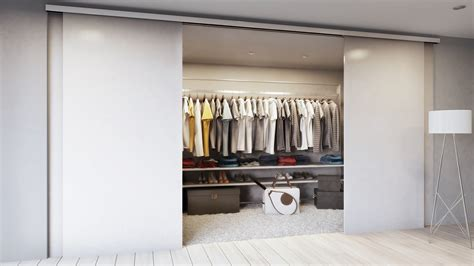 walk in closet doors smooth stylish and silent sliding doors from jlc jlc automation services