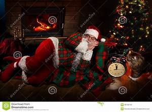 Santa Claus stock photo. Image of elderly, home, kringle ...