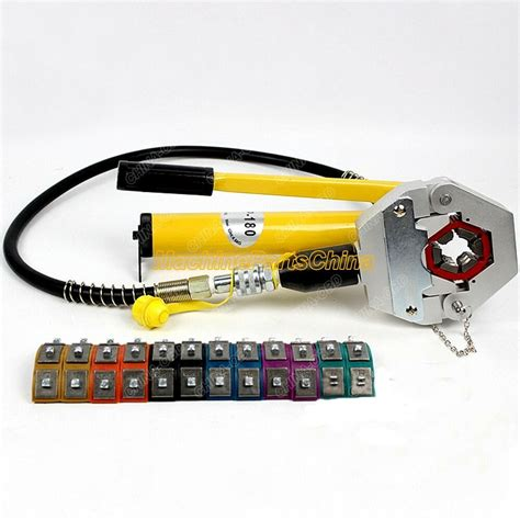 air conditioning repaire tools hose crimping tools hydraulic fs  clamp ebay