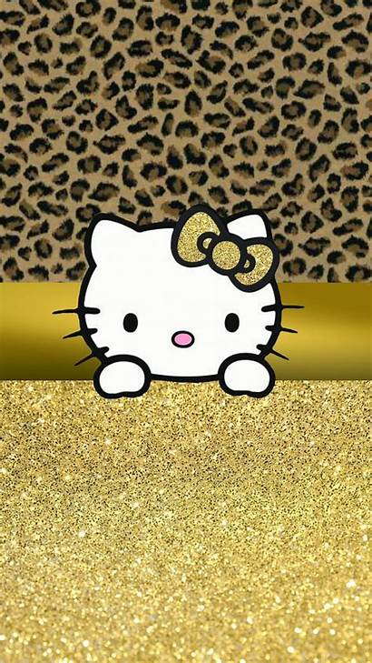 Kitty Hello Leopard Wallpapers Backgrounds Pantalla Fondos