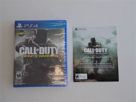 Modern warfare boosting | spring 2021 10% off special code: PS4 Call of Duty Infinite Warfare + Modern Warfare Remastered Code Card *New* #Activision ...