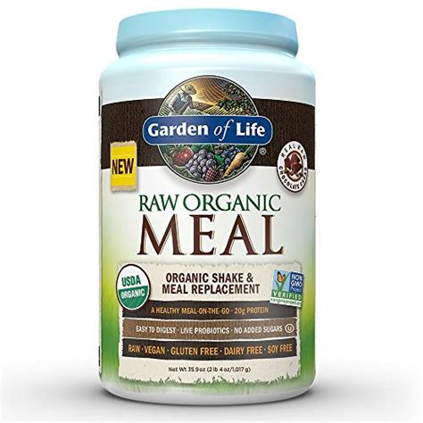 meal garden of garden of meal replacement organic plant based
