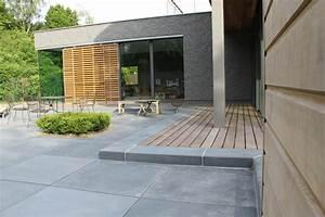 Dalles Beton Terrasse : terrasse dalle xxl a wasquehal 59 nord home ext rieur ~ Melissatoandfro.com Idées de Décoration