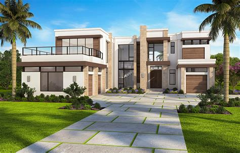 Contemporary House Plans by Marvelous Contemporary House Plan With Options 86052bw