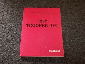 1997 Isuzu Trooper Suv Electrical Wiring Diagram Manual
