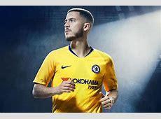 New Chelsea away kit 201819 revealed Eden Hazard models