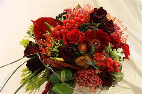The Flower Magician The Jewels Of Autumn Wedding Bouquet