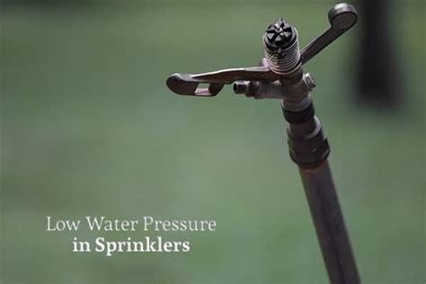 Why Is The Water Pressure Low In My Bathroom Sink by Why Do My Sprinklers Low Water Pressure Heb Plumbing