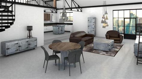 meuble cuisine zinc salle à manger complète zinc mobilier moss