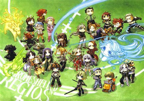 Anime Chrome Wallpaper - chrome shelled regios wallpaper and background image