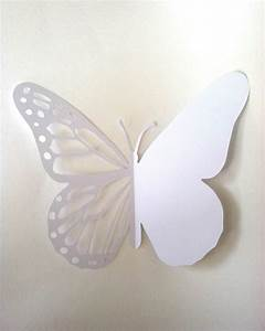 Butterfly card printable paper cutting template paper for Butterfly paper cut out template
