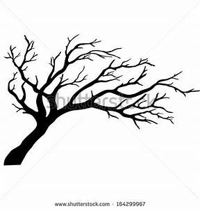 tree silhouettes without leaves | Tree silhouettes. Vector ...