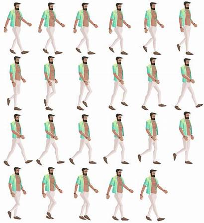 Sprite Sheet Engine Sprites Sheets Example Character
