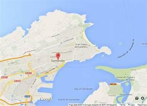 Map Of Santander