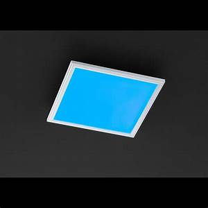 Led Deckenleuchte Rgb : led deckenleuchte mit rgb farbwechsler fernbedienung und einer breite von 40 cm ~ Watch28wear.com Haus und Dekorationen