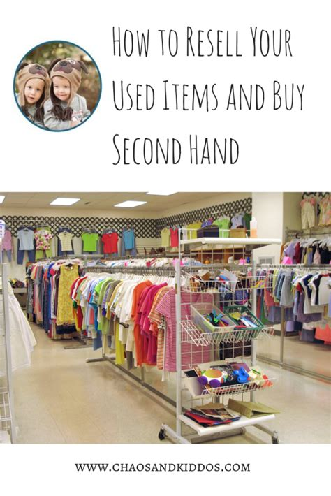 How To Resell Your Used Items And Buy Second Hand