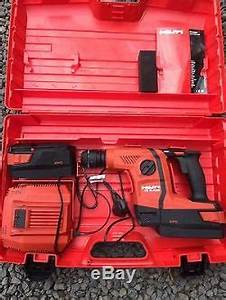 Hilti Cordless Light Hilti Te 6 A36 Avr Cordless Sds Rotary Hammer Drill New
