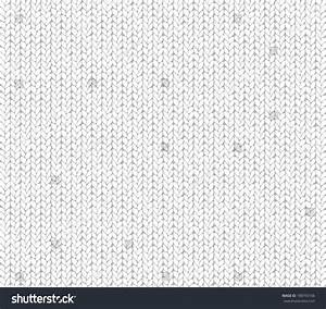 White Knit Fabric Seamless Texture Stock Vector 188743106 ...