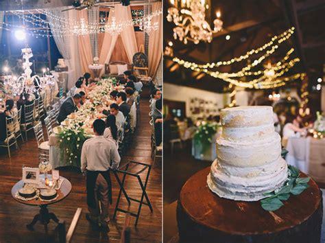 rustic baguio hill station lourdes philippines wedding