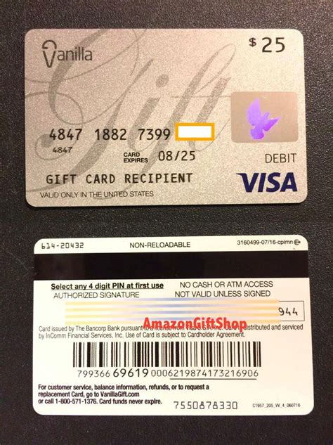 vanilla debit card activation   credit card app