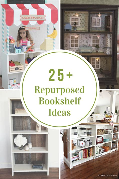 repurposed bookshelf ideas  idea room