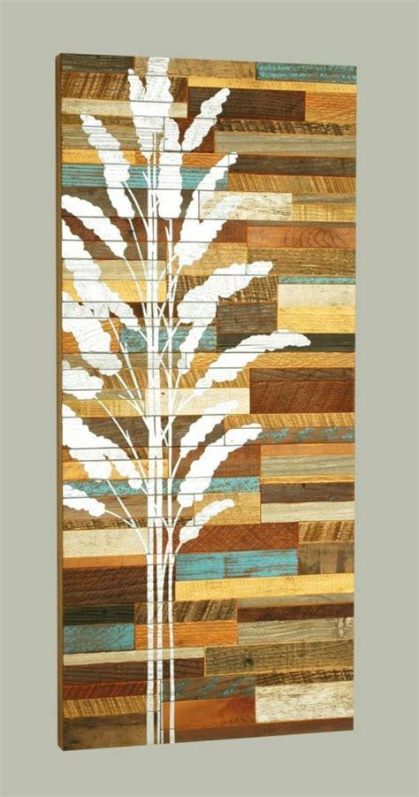 holz deko wand 100 ideen f 252 r faszinierende deko aus holz der natur