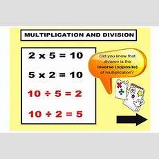 Explore The Inverse Relationship Between Multiplication