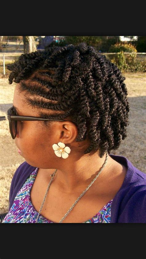 Flat Twist Ponytail Hairstyles by She Used Flat Twists To Create Fabulous Summer Curls On