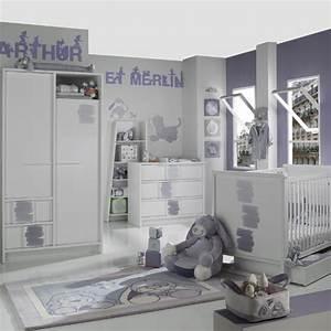 modele chambre bebe garcon solutions pour la decoration With modele chambre bebe garcon