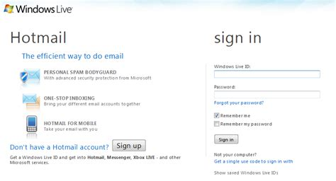 How To Sign In Windows Live Hotmail?