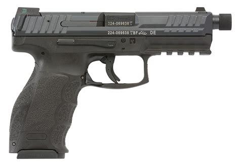 hk tlea vp tactical mm luger   black black interchangeable backstrap grip