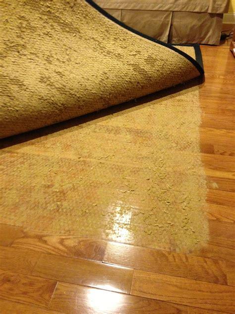 latex rug backing stuck  wood floor blog  pelletier rug