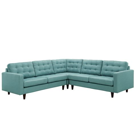 laguna sectional sofa empress 3 button tufted upholstered sectional sofa