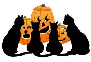Happy Halloween Cat Clip Art