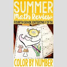 End Of Year Math Or Summer Math Packet Fourth Grade Math Review  Colors, The O'jays And Need To