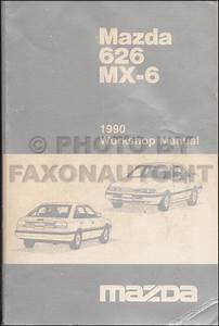 1990 Mazda 626 And Mx