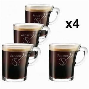 Verre à Café : tasse en verre senseo ~ Teatrodelosmanantiales.com Idées de Décoration