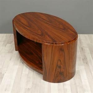 Table Basse Art Deco : table art d co basse ovale meubles art d co ~ Teatrodelosmanantiales.com Idées de Décoration