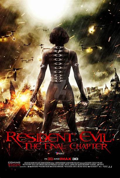 Resident Evil Final Chapter Movies Wallpapers Finals
