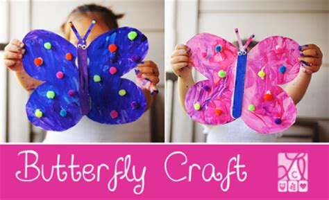 25 butterfly crafts and activities for littles 519 | Fun Butterfly Craft