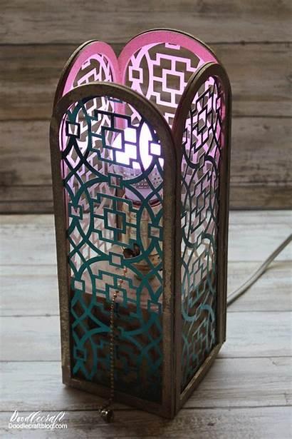 Cricut Lampshade Maker Diy Luminaries Lantern Lamp
