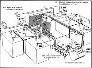 1998 Ezgo Gas Wiring Diagram Power